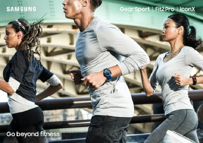 IFA 2017 : montres Samsung Gear Sport, Fit 2 Pro et écouteurs Gear IconX