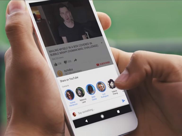 YouTube : une nouvelle façon de partager des vidéos dans l'application