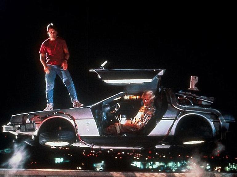 DeLorean va sortir une voiture volante, mais elle ne voyagera pas dans le temps
