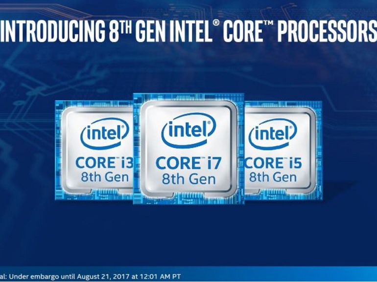 Intel officialise ses processeurs Core i Coffee Lake pour PC portables