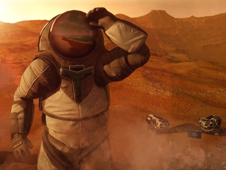 Mars 2030 : explorez la planète rouge en réalité virtuelle