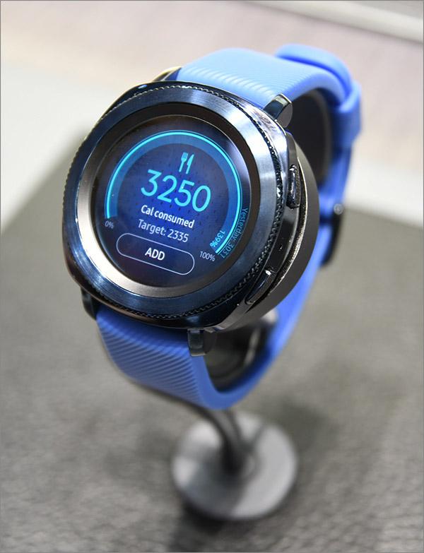 Calories sur Samsung Gear Sport