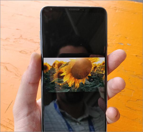 Prise en main LG V30