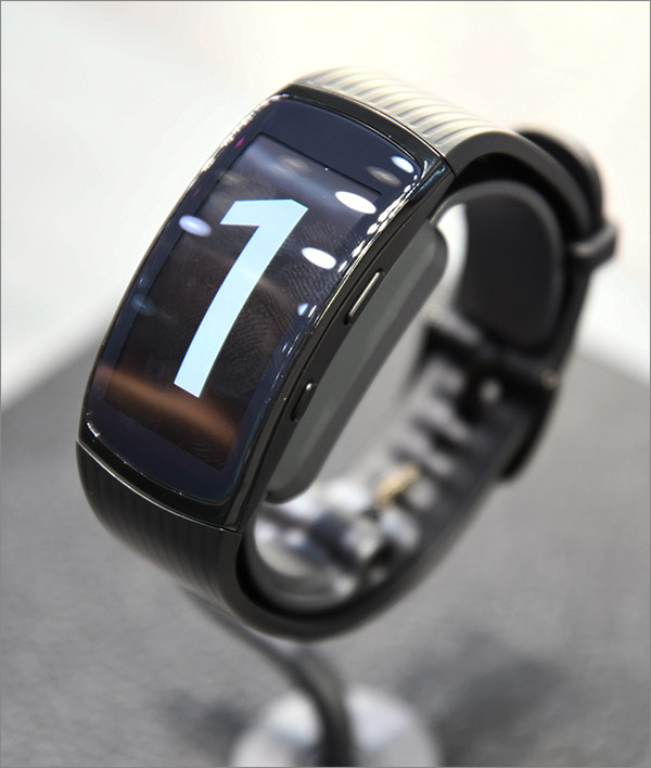 Vue écran de la montre