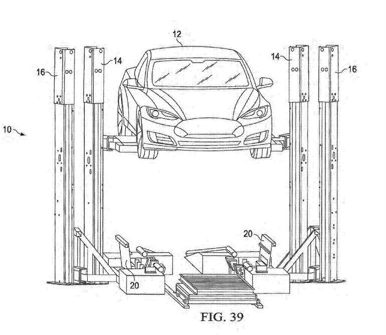 Tesla : bientôt des batteries amovibles et échangeables