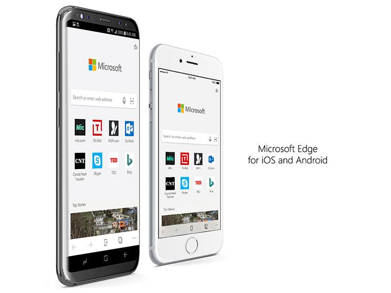 Edge sur iOS et Android : Microsoft vous propose de tester son navigateur