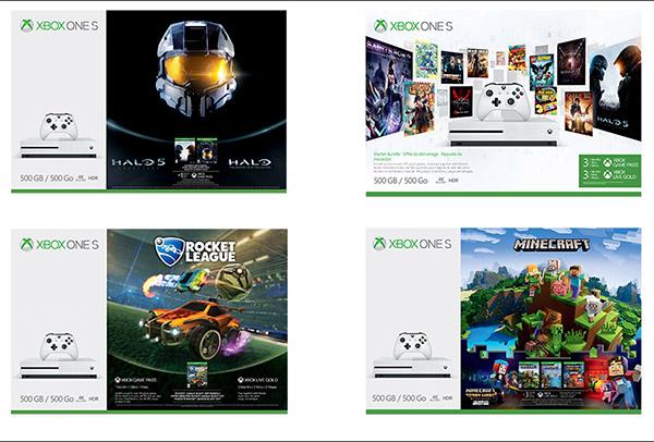 Packs Xbox One S