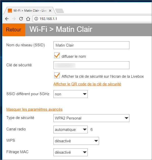 Sécurité Wifi WPA2