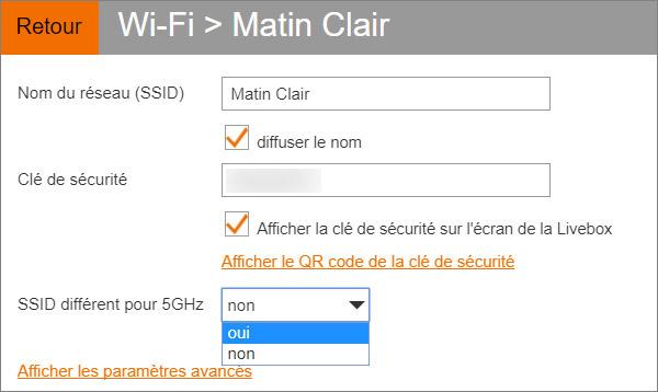 Fréquence wifi