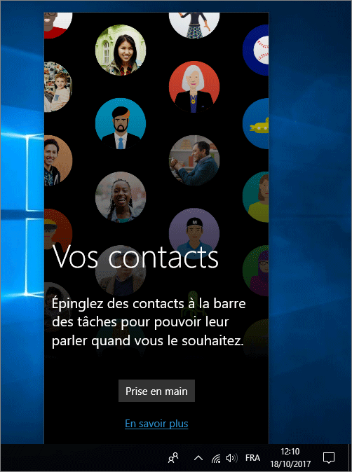 Contacts Windows 10
