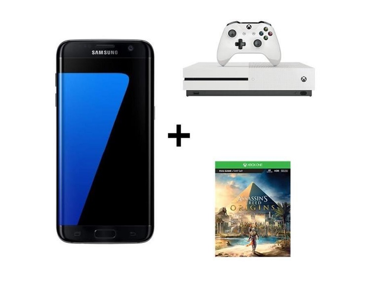 Black Friday : Samsung Galaxy S7 Edge + Xbox One S + Assassin's Creed à 499 €