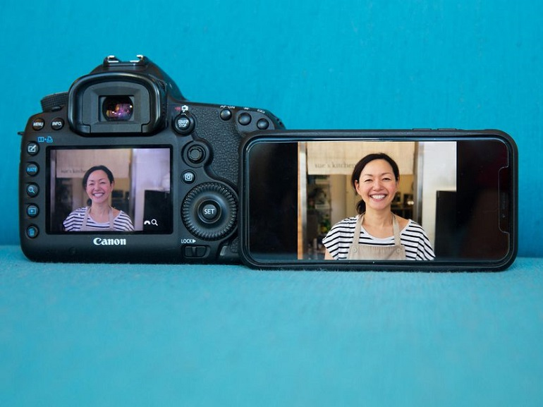iPhone X vs Canon 5D Mark III : le choc du bokeh