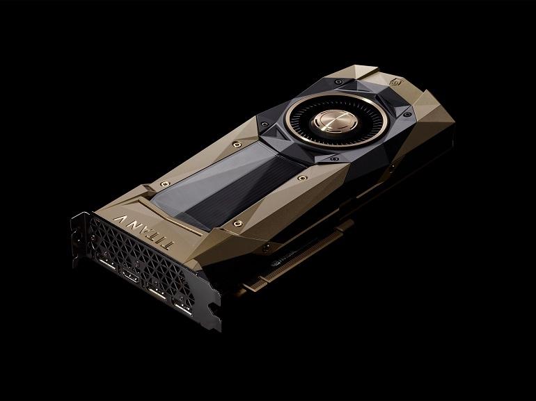Nvidia annonce sa Titan V : nouvelle architecture, toujours plus puissant