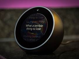 Amazon Echo Spot : Alexa dans un réveil