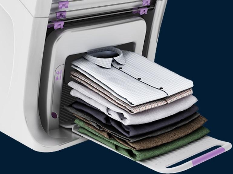 CES 2018 : Foldimate, la machine qui plie automatiquement votre linge sera disponible en 2019