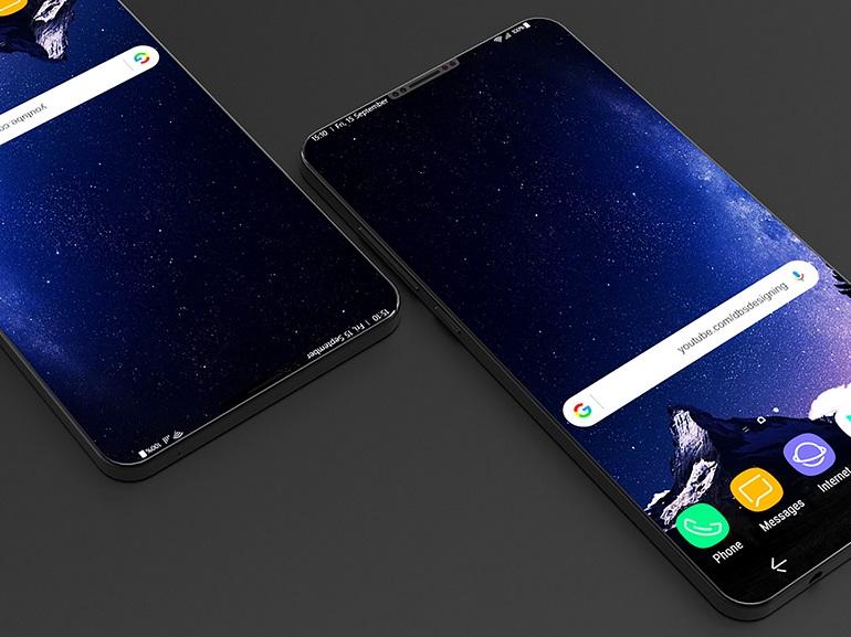 Samsung Galaxy Note 9 : un rendu presse confirme son design