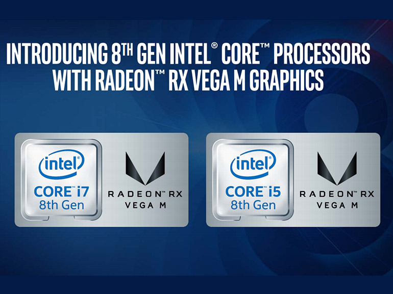 CES 2018 : Kaby lake-G, les nouvelles puces avec CPU Intel Core et GPU AMD Vega