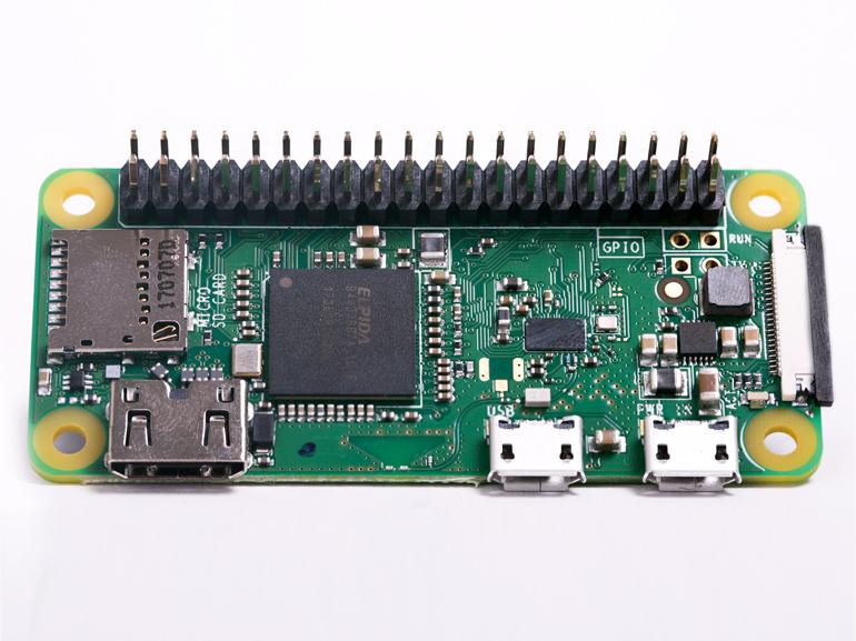 Raspberry Pi Zero WH : un nouveau modèle avec un port GPIO à 40 broches