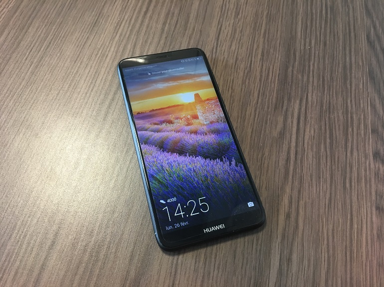 Test - Huawei P Smart : simple, basique, mais 18 : 9