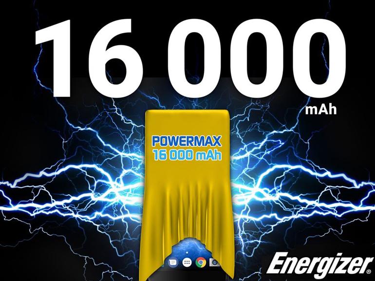 MWC 2018 : Energizer tease un smartphone avec une batterie record de 16 000 mAh