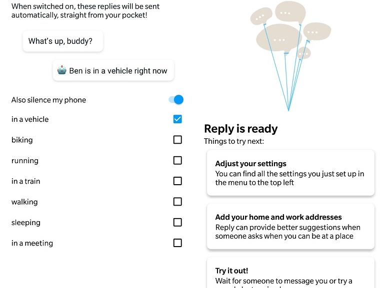 Reply, l'application intelligente de Google qui répond aux messages à votre place