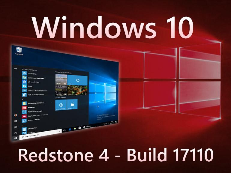 Windows 10 build 17110 : des mises à jour personnalisées pour les pro