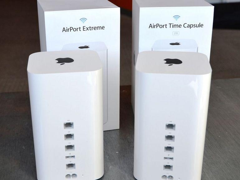 AirPort : clap de fin pour les routeurs Apple