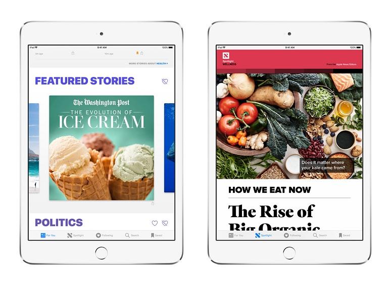 Apple News, une version payante en mode