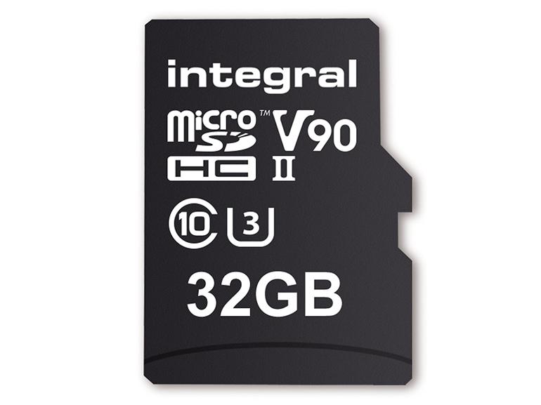 Integral microSDHC 32 Go (V90 - UHS-II)
