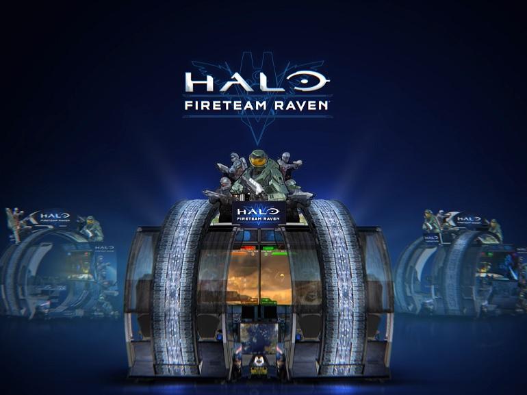 Fans du jeu Halo, la borne d'arcade Halo: Fireteam Raven est pour vous