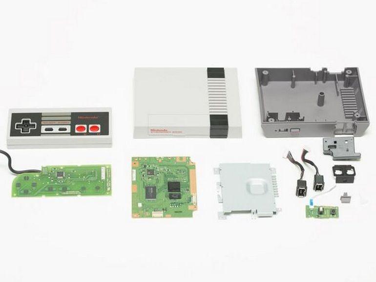Démontage de la NES Classic Mini : ce qu'il y a sous le capot de la console rétro de Nintendo
