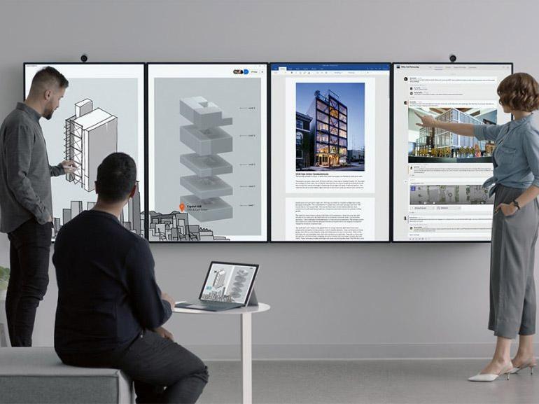 Surface Hub 2 : Microsoft présente son nouvel écran géant pour les professionnels