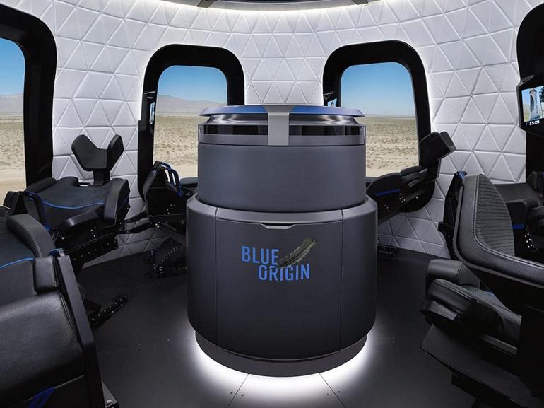 Blue Origin : le tourisme spatial, c'est pour 2019 (si tout va bien)