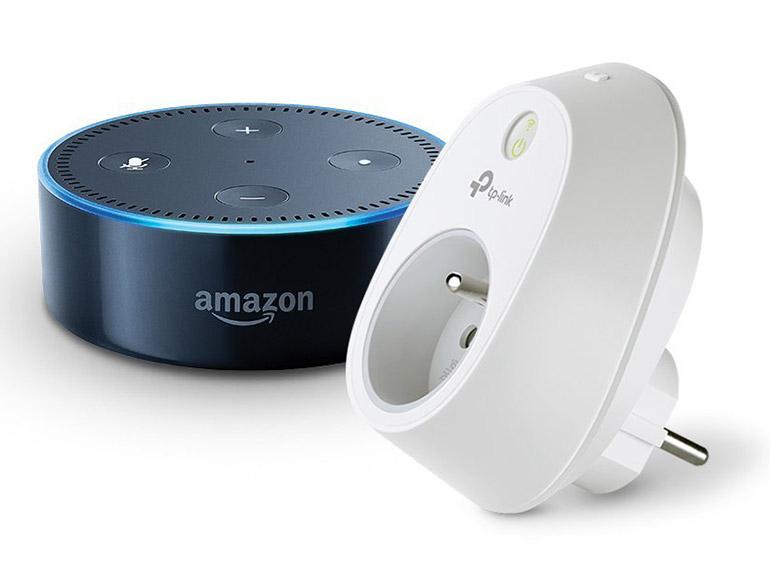 Bon plan : l'enceinte Amazon Echo Dot et sa prise connectée TP-Link à 46,99€