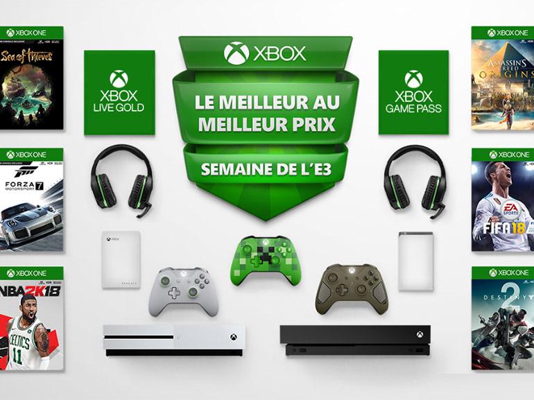 Xbox : les consoles S et X en promotion et autres offres pour l'E3 2018