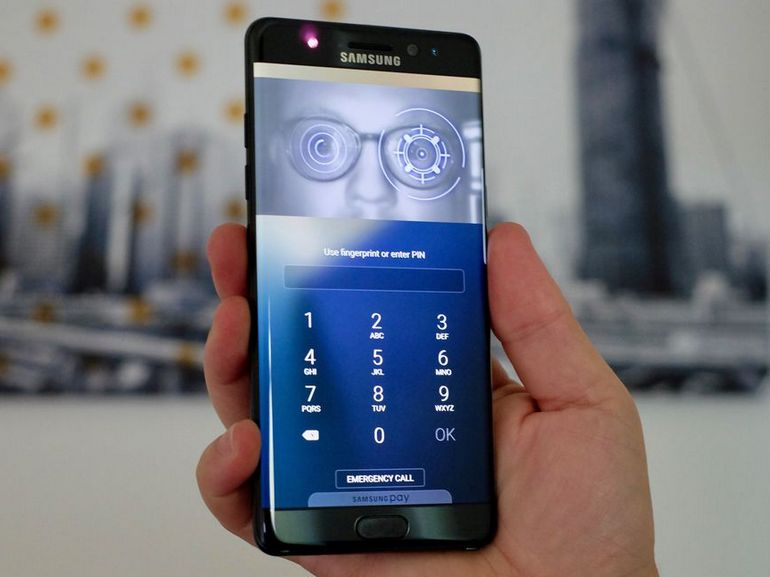 Samsung Galaxy S10 : le scanner d'iris abandonné au profit d'un lecteur d'empreinte sous l'écran ?