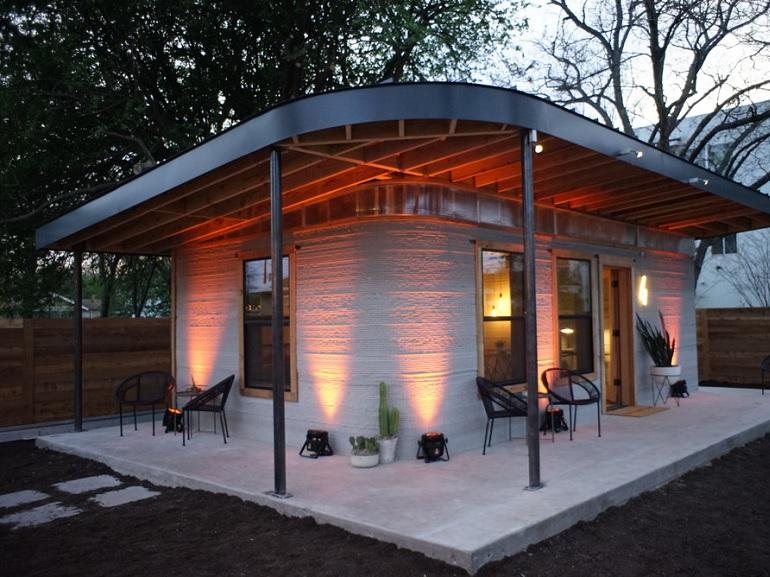 Des maisons imprimées en 3D pour faciliter l'accès au logement