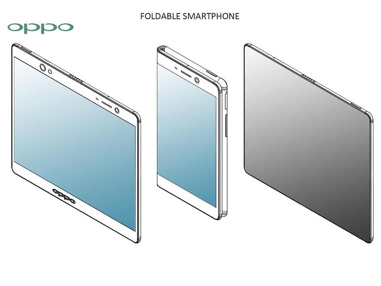 OPPO : des brevets pour différents genres de smartphones pliables