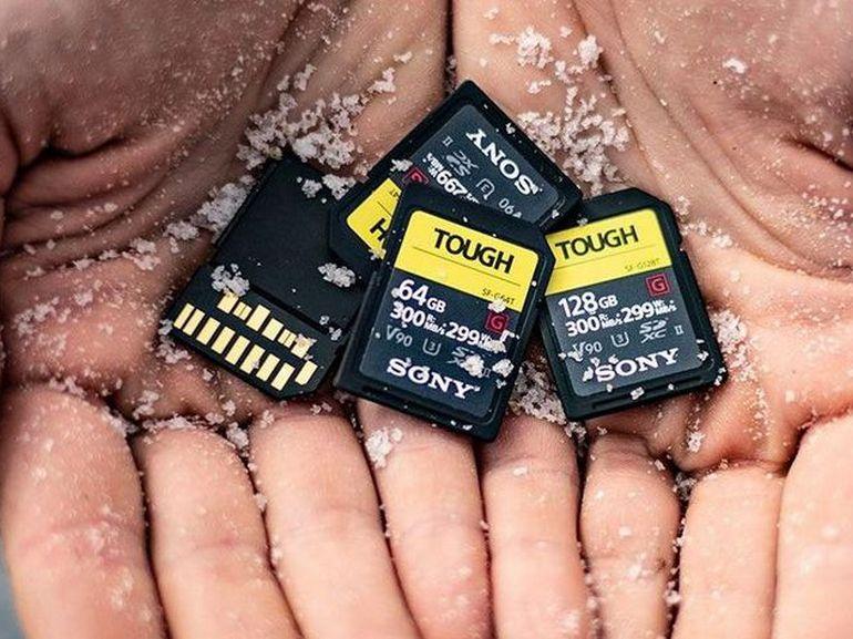 Sony annonce la carte SD la plus solide du monde