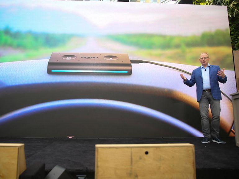 Amazon Echo Auto installe Alexa sur votre tableau de bord