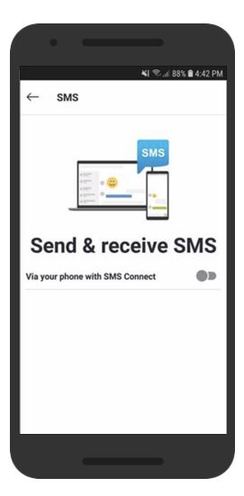 SMS Connect Skype