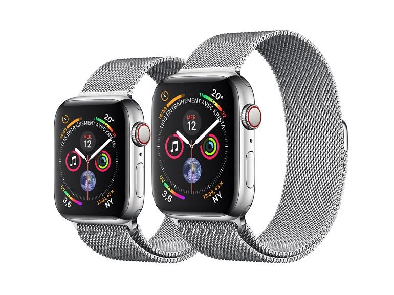 L'Apple Watch Serie 4 avec électrocardiogramme est disponible en France