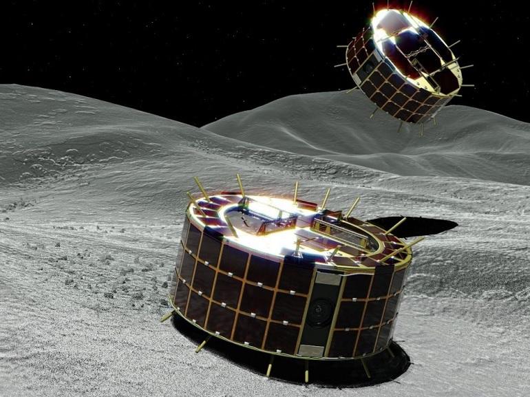 Deux robots japonais se sont posés sur l'astéroïde Ryugu, découvrez les premières images