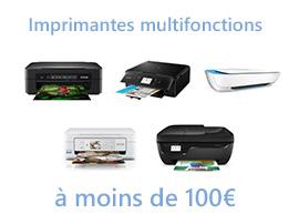 Les meilleures imprimantes multifonctions 2019 à moins de 100€