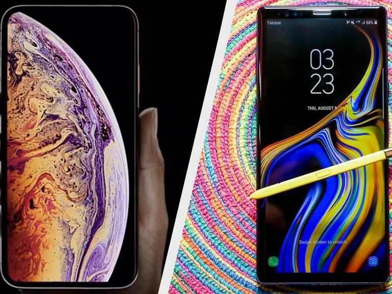 iPhone XS vs Galaxy Note 9 : ce qu'offre un smartphone à plus de 1.000 euros