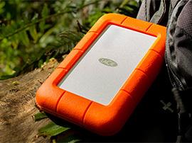 Test du disque dur LaCie Rugged RAID Pro 4To, taillé pour les chasseurs d'images