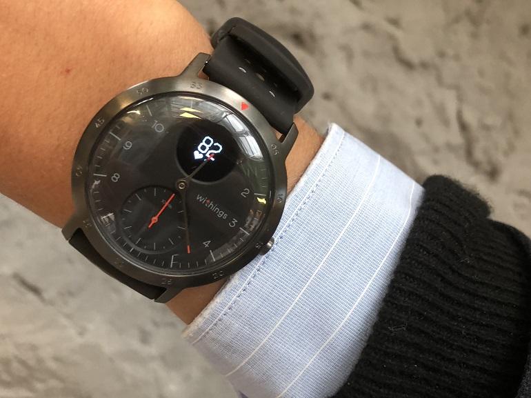 Withings fait son grand retour avec une nouvelle montre connectée