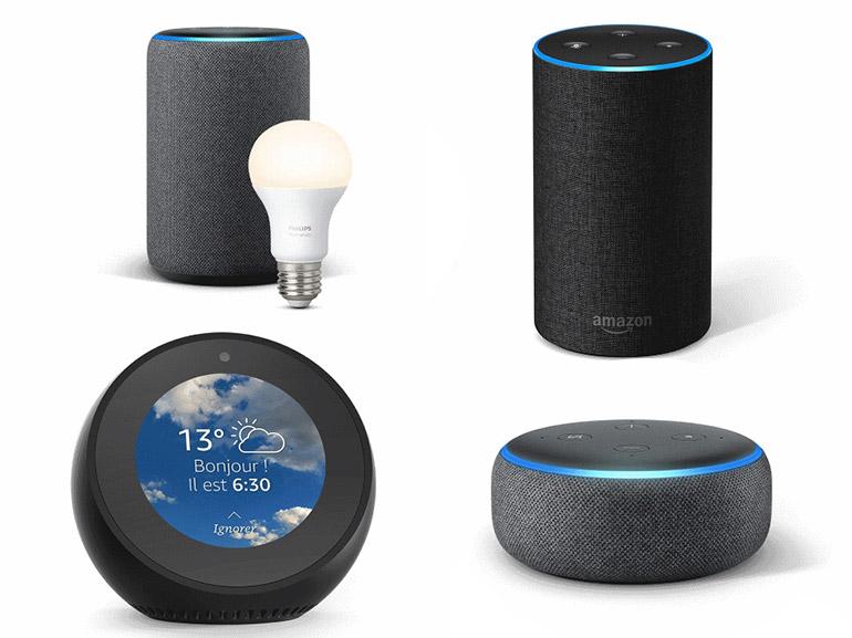 Comparatif Amazon Echo : quelle enceinte connectée Alexa choisir en 2019 ?