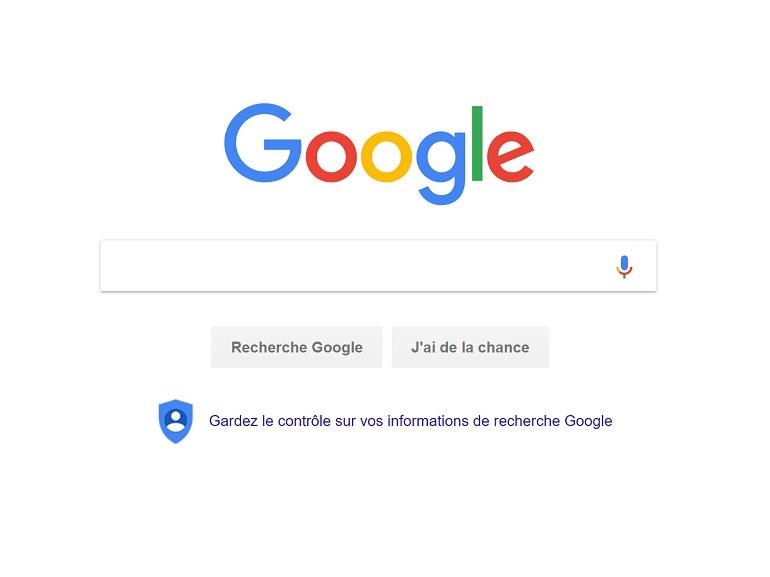 Google donne accès à vos données de confidentialité depuis la page d'accueil