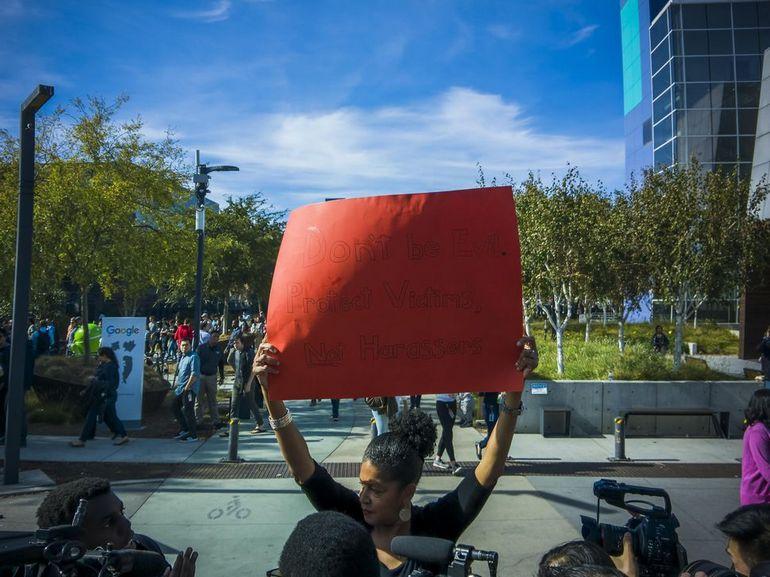 Google Walkout : dans le monde entier des salariés ont protesté contre le traitement des cas de harcèlement sexuel